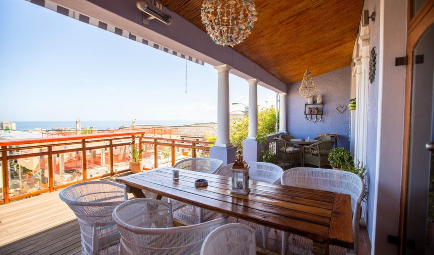 Deck with views in Sea Point, Cape Town, Western Cape, South Africa