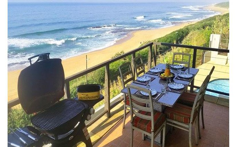 La Pirogue patio with amazing views in Westbrook, KwaZulu-Natal, South Africa