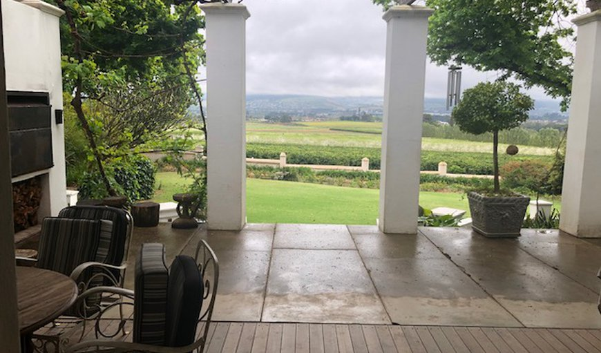 Front veranda with braai in Southern Paarl, Paarl, Western Cape, South Africa