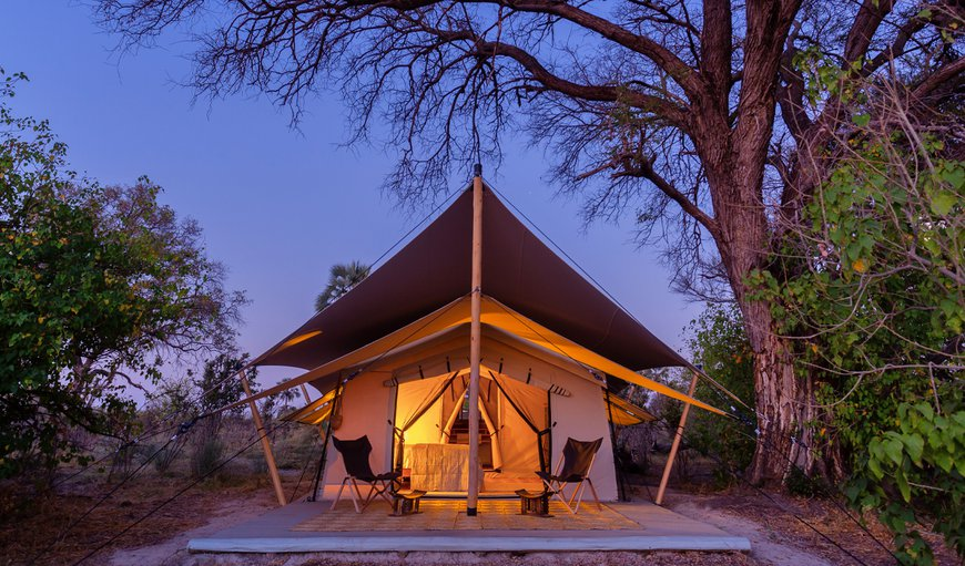 Welcome to Camp Maru in Maun, North West District, Botswana