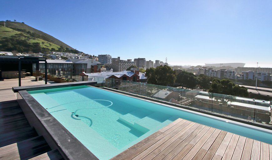 The Docklands features a communal rooftop swimming pool with braai facilities