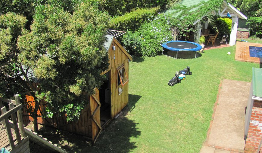 Playground: Swimming Pool,  jungle gym, trampoline, swings, wendy house and sandpit, which children are welcome to use with supervision available to Rose and Ale guests