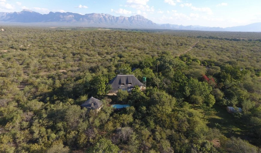 Wild Blue Lodge Aerial View in Hoedspruit, Limpopo, South Africa