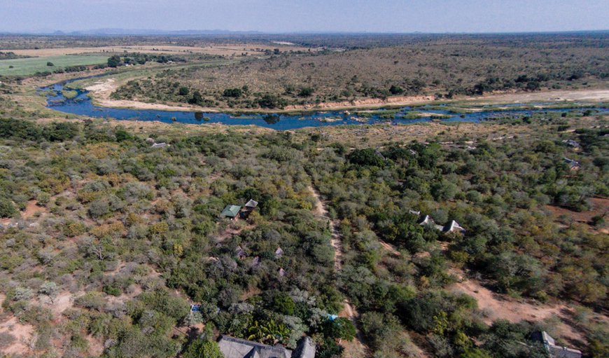 Aerial in Komatipoort, Mpumalanga, South Africa