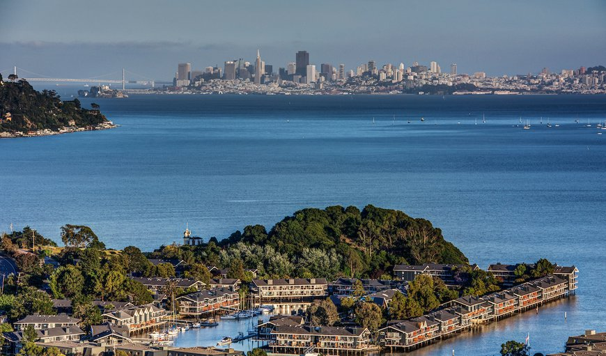 The Cove Apartments in Tiburon, San Francisco, California, United States