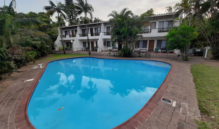 View of Flat Accross Pool in St Lucia, KwaZulu-Natal, South Africa