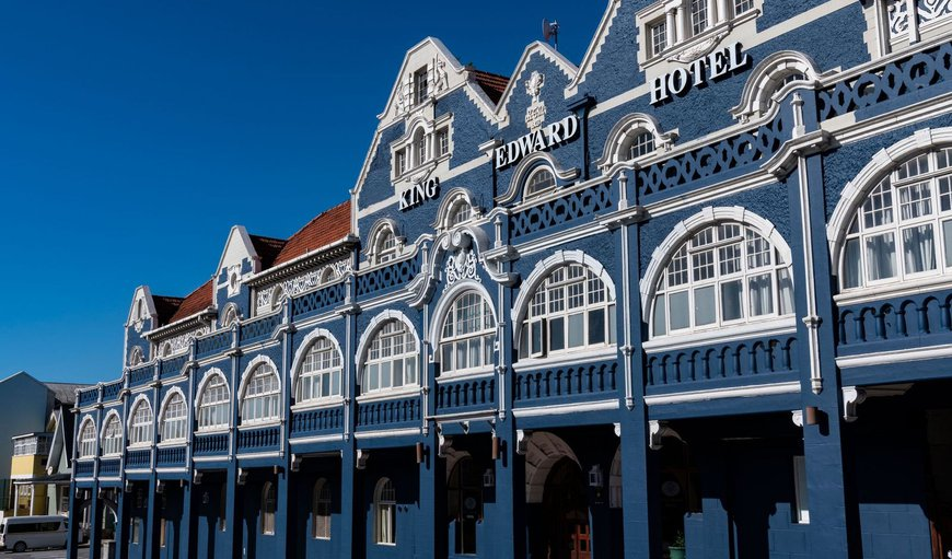 Welcome to King Edward Hotel in Port Elizabeth, Eastern Cape, South Africa
