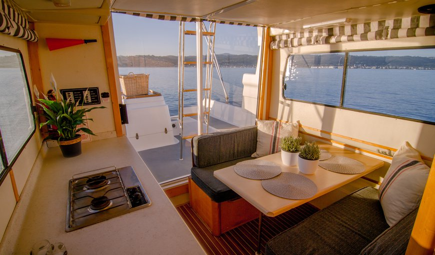 Knysna Houseboats in Thesen Islands, Knysna, Western Cape, South Africa