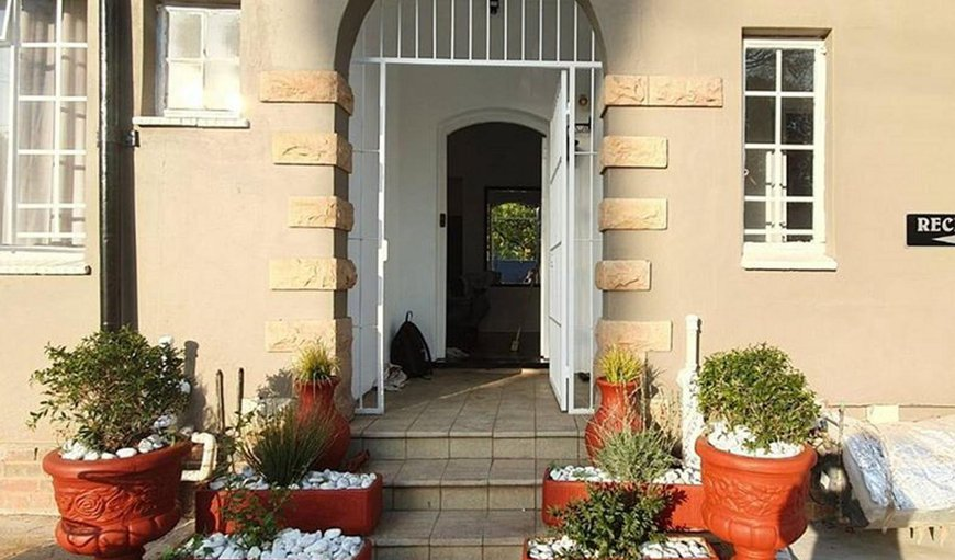 Welcome to Union Guest House in Pretoria (Tshwane), Gauteng, South Africa