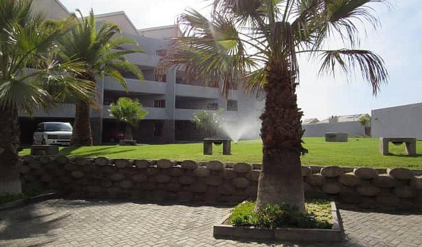 Complex exterior in Langstrand, Erongo, Namibia