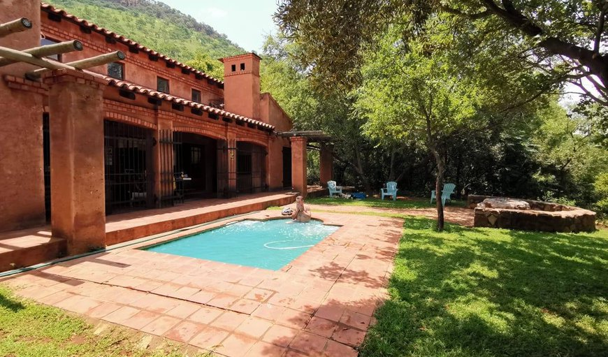 Casa La Mer exterior and heated swimming Pool