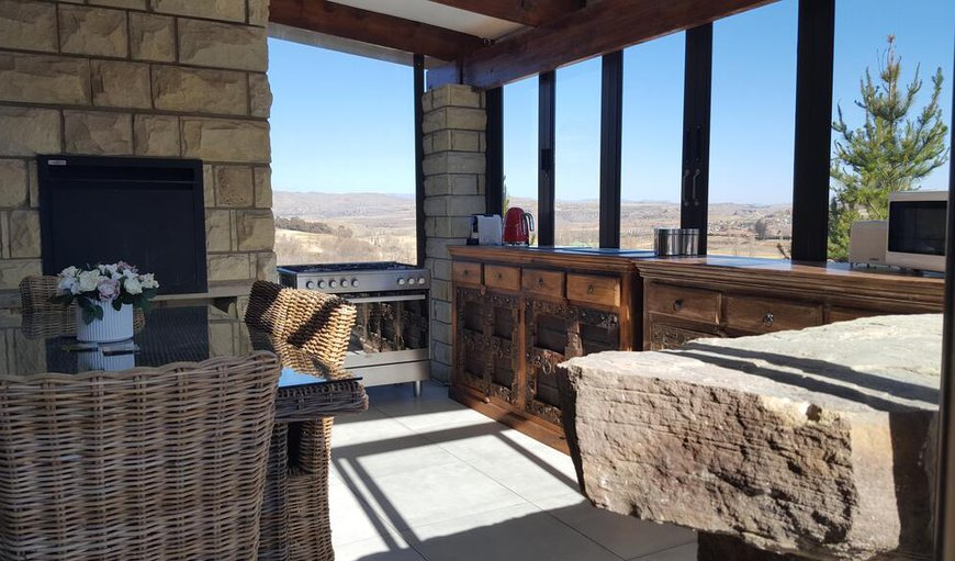 Rochester features a newly enclosed veranda with a built-in braai