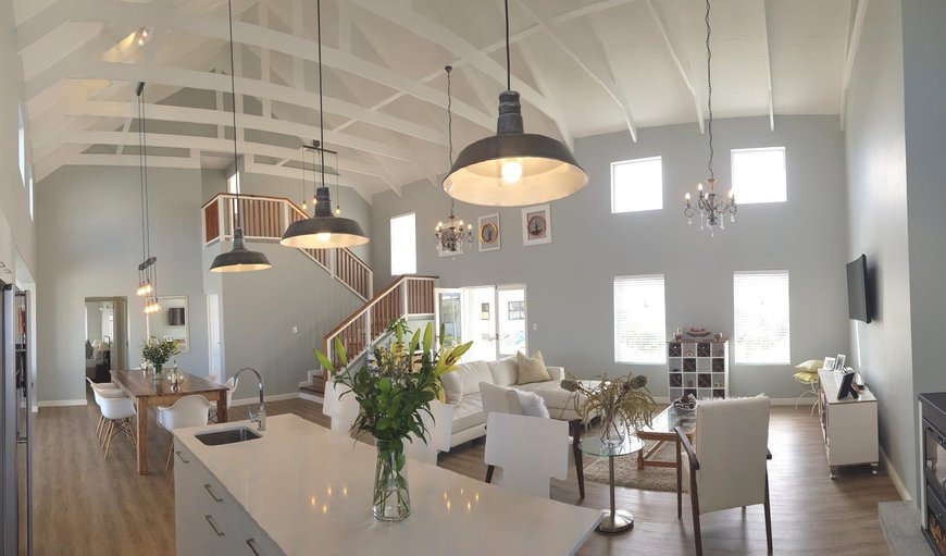 The kitchen is equipped for self-catering in Westcliff - Hermanus, Hermanus, Western Cape, South Africa