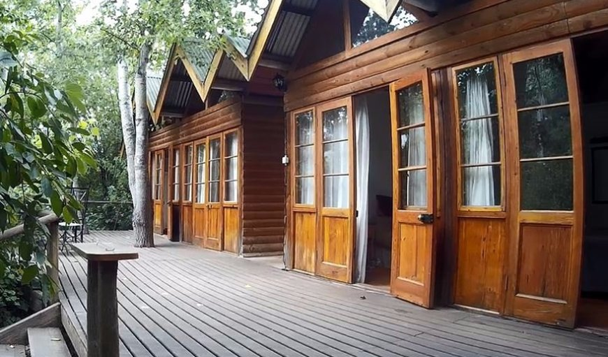 Exterior of cabins