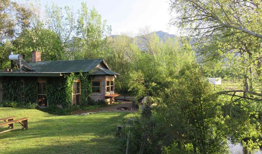 Exterior of Otter's communal area in Franschhoek, Western Cape, South Africa