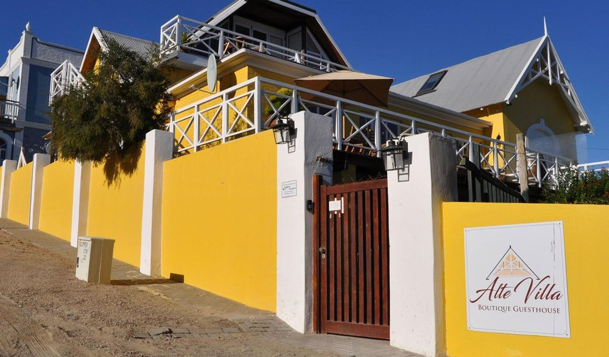 Welcome to Alte Villa in Luderitz , Karas, Namibia