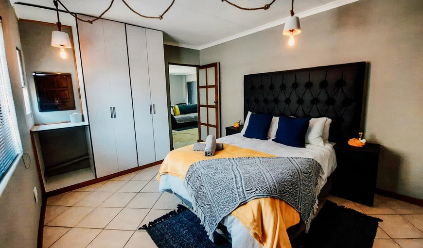 Self Catering Two-bedroom - The first bedroom has a double bed in Sabie, Mpumalanga, South Africa
