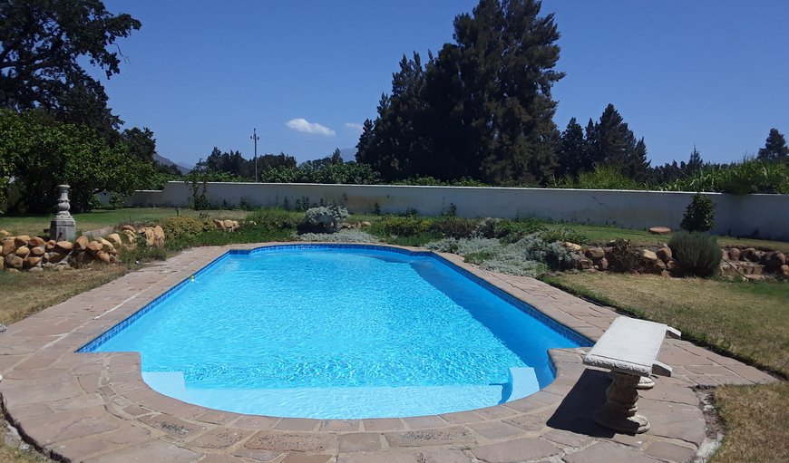 Palmiet Valley Estate features an outdoor swimming pool