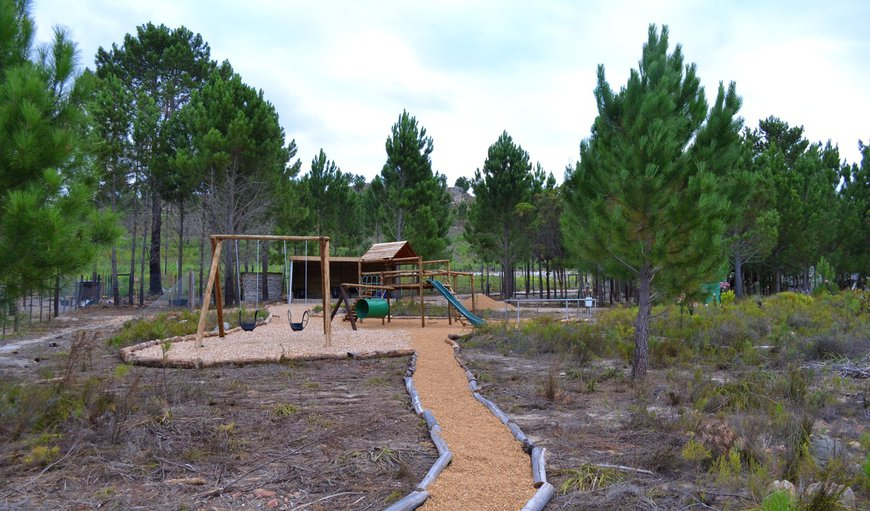 Otium Oasis Glamping and Camping has a jungle gym and trampoline for younger children