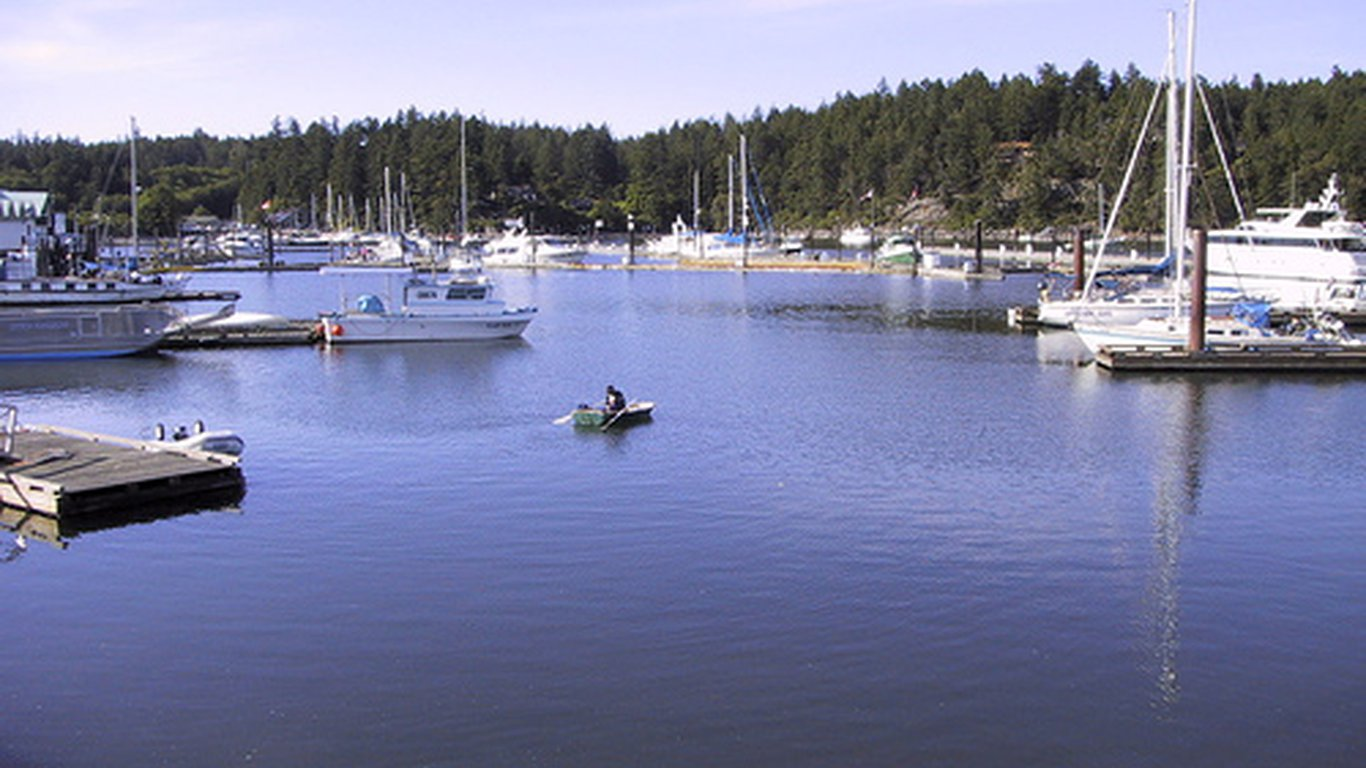 Cedar Beach Resort In Salt Spring Island Canada