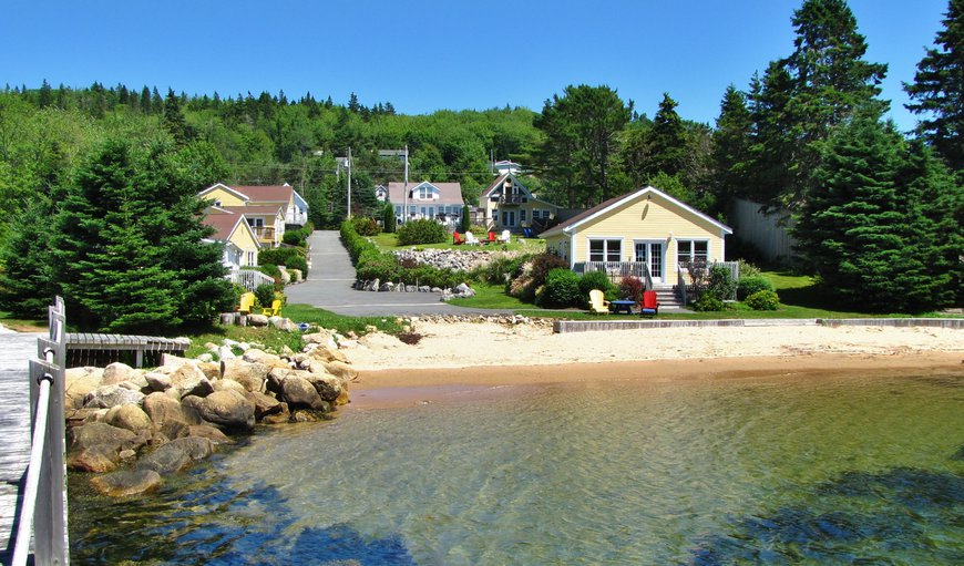Larinda's Landing OceanfrontCottages  in Halifax, Nova Scotia, Canada