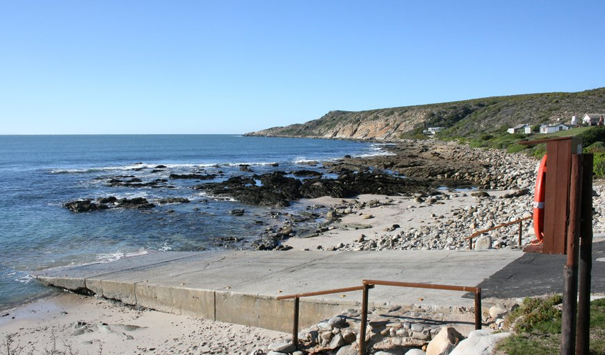 Slipway in Cape Infanta, Western Cape , South Africa