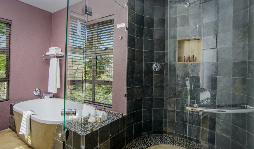 All bathrooms have a modern, open plan design leading straight off the main room with no inter-leading doors.