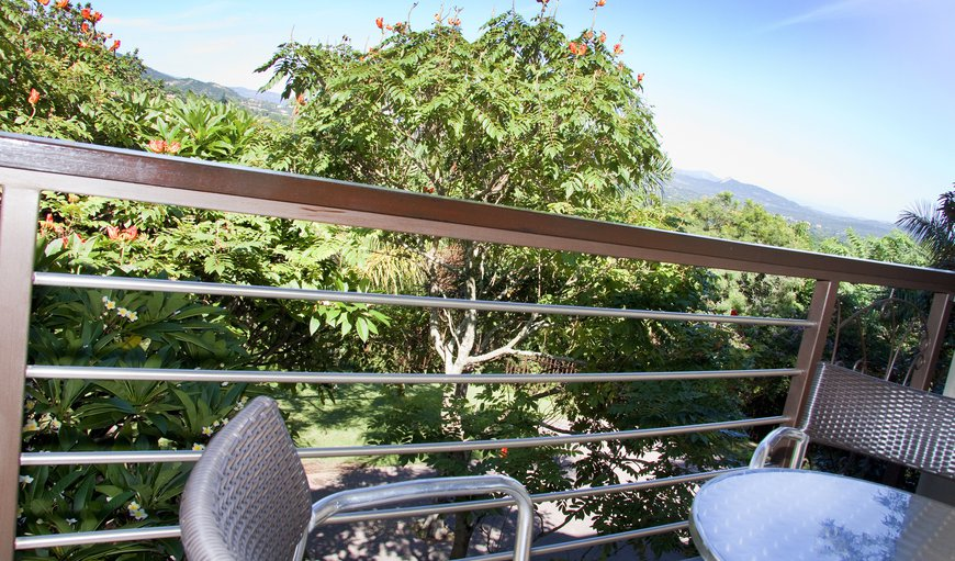 All rooms have a private balcony with views of Nelspruit City