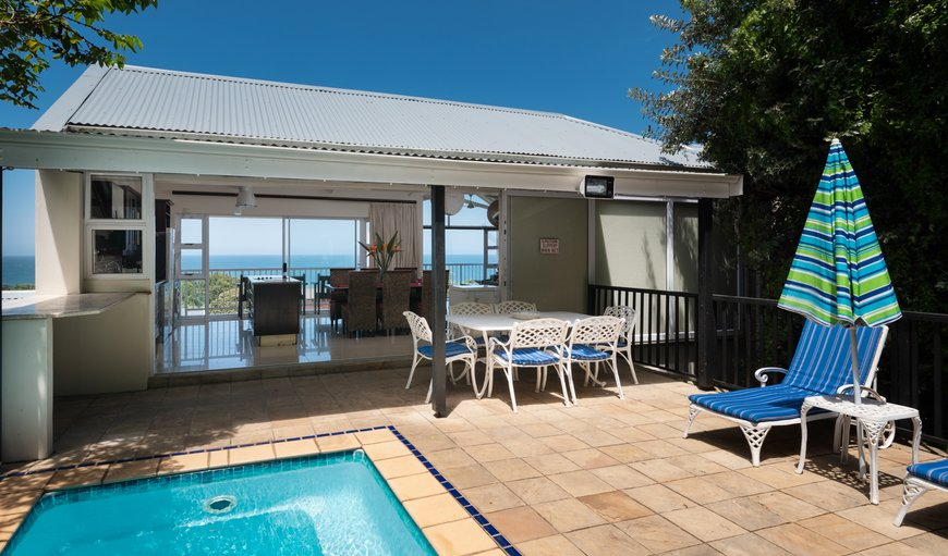 Pool terrace, plunge pool and views to the Indian Ocean. in Prince's Grant, Durban, KwaZulu-Natal , South Africa