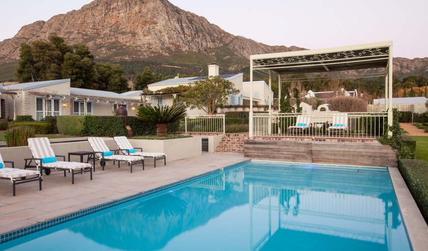 Welcome to La Cabriere Country House in Franschhoek, Western Cape, South Africa