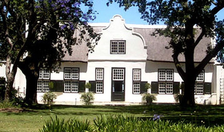 Hawksmoor House in Stellenbosch, Western Cape , South Africa