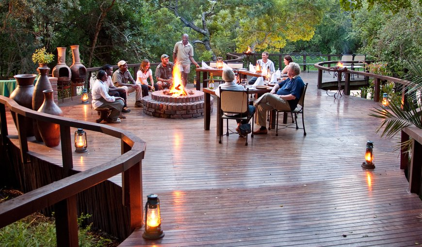 Fireside Dining in Thornybush Nature Reserve, Mpumalanga, South Africa
