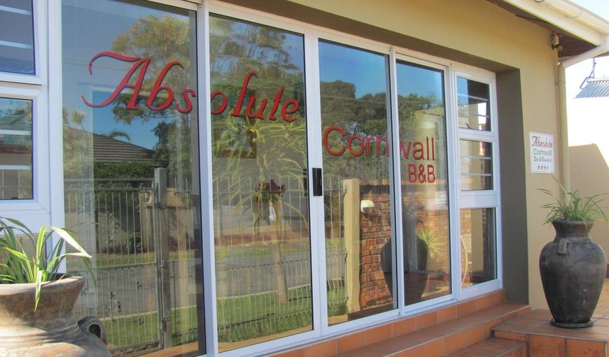 Welcome to Absolute Cornwell B&B in Vincent , East London, Eastern Cape, South Africa