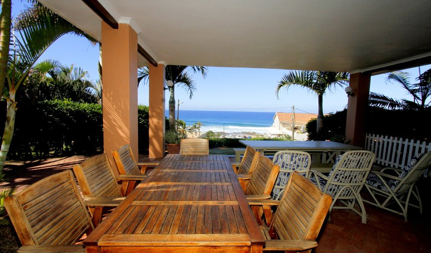 The House view & Veranda in Umdloti Beach, Durban, KwaZulu-Natal, South Africa