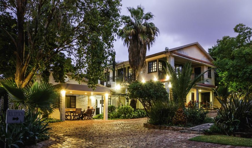 Night View in Bayswater, Bloemfontein, Free State Province, South Africa