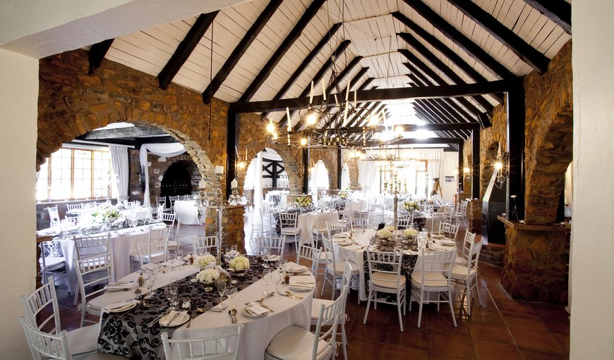 One of our function rooms - the Barn