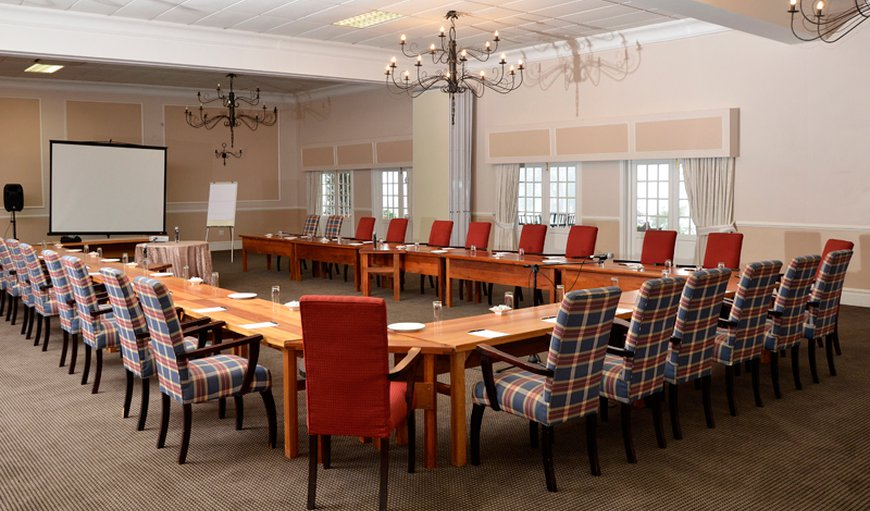 Lythwood - boardroom style setup for a conference