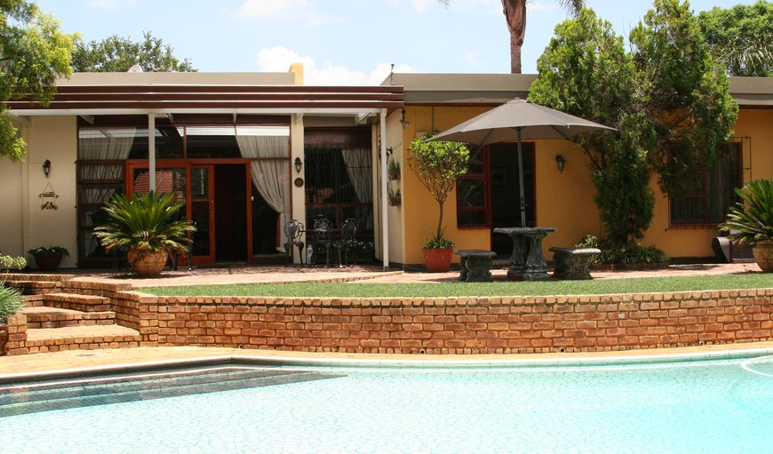 View of Dining Room from Pool in Northcliff - Johannesburg, Johannesburg (Joburg), Gauteng, South Africa
