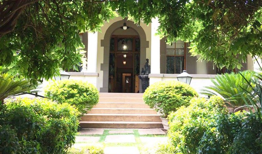 The main Entrance to The Farmhouse  in Linden, Johannesburg (Joburg), Gauteng, South Africa