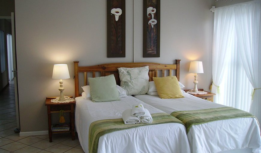 Fynbs room- A spacious, luxury twin bedded room that is nice and warm during winter and cool during summer.