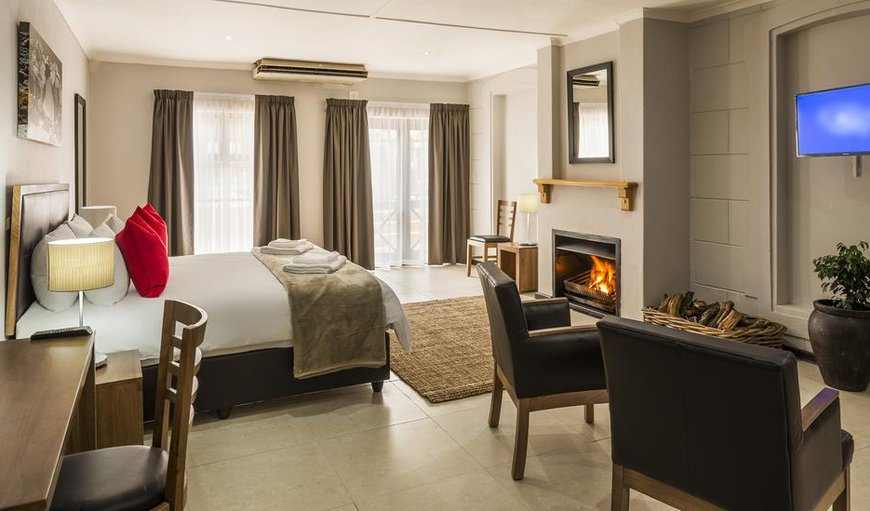One of the beautiful double rooms at the Clanwilliam Hotel in Clanwilliam, Western Cape, South Africa