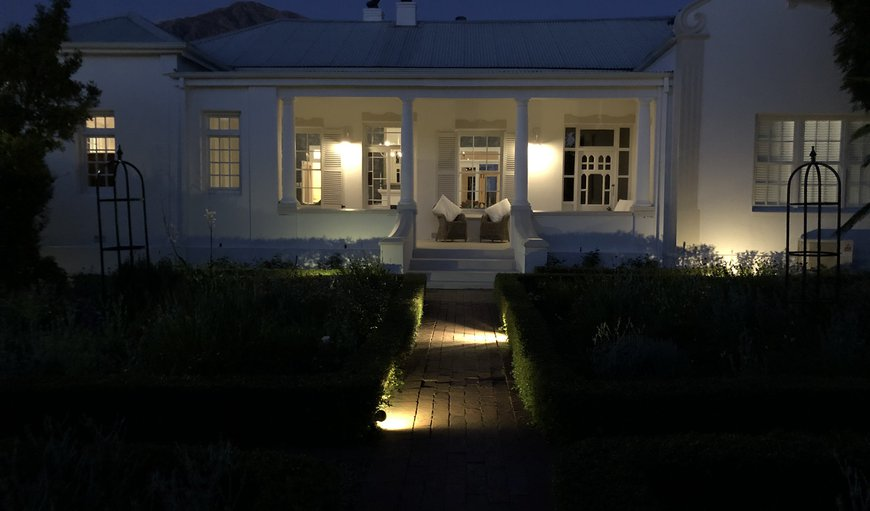 Exterior in Franschhoek, Western Cape, South Africa