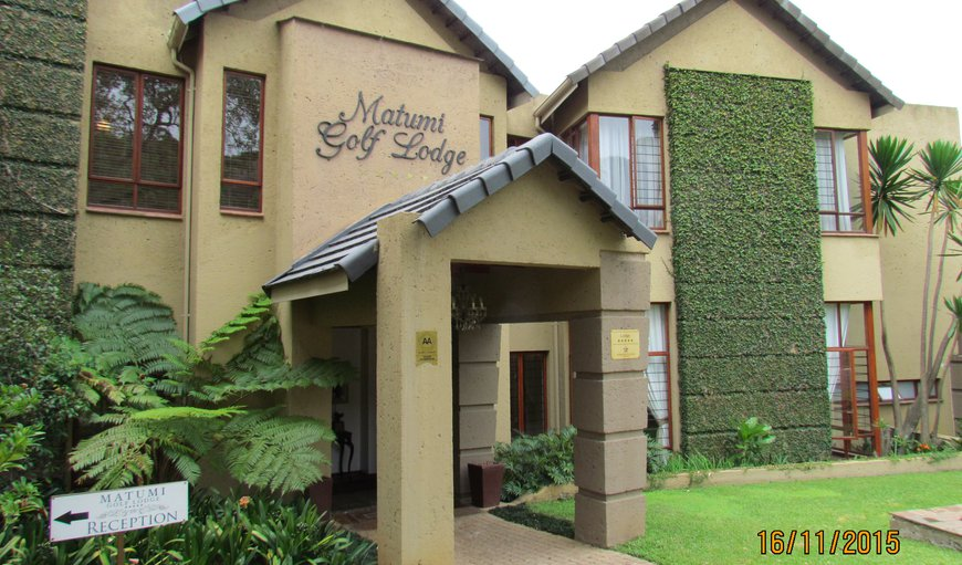 Matumi Golf Lodge in Nelspruit, Mpumalanga, South Africa