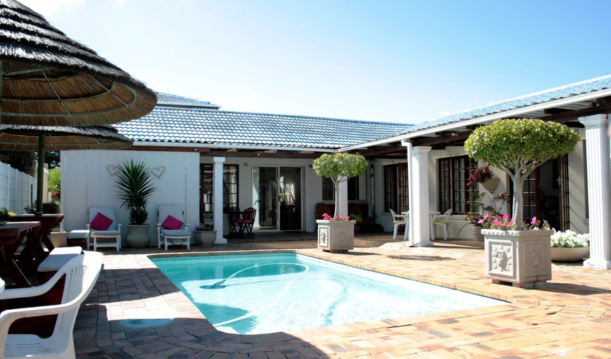 Ideal place to enjoy the sun, read a book or just chat to other guests about your Cape Town experience. in Bloubergstrand, Cape Town, Western Cape, South Africa