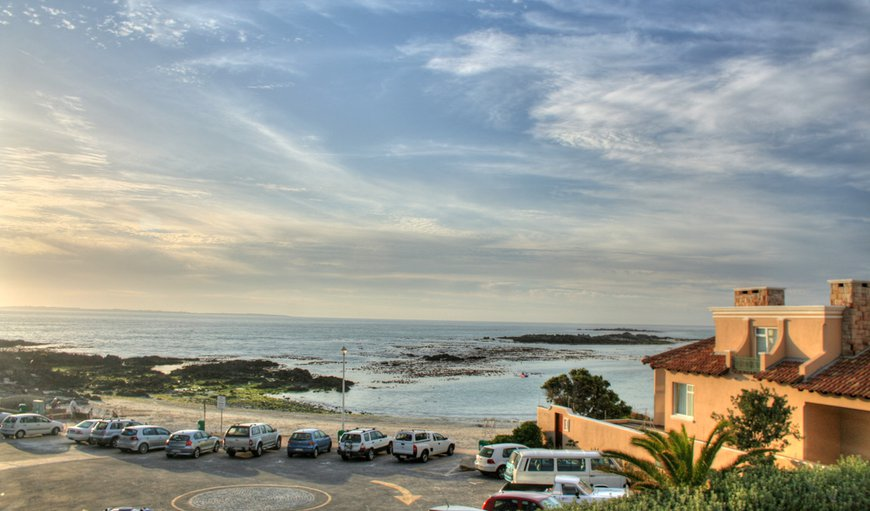 View from the lounge balcony. in Bloubergstrand, Cape Town, Western Cape , South Africa