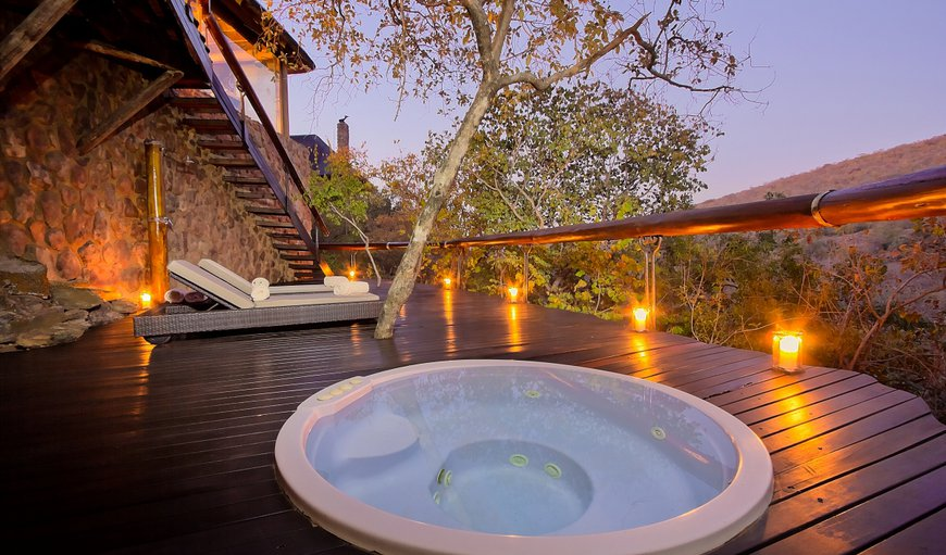 Private jacuzzi