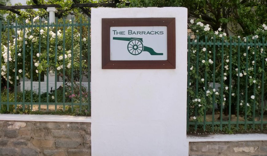 Welcome to The Barracks in Colesberg, Northern Cape, South Africa