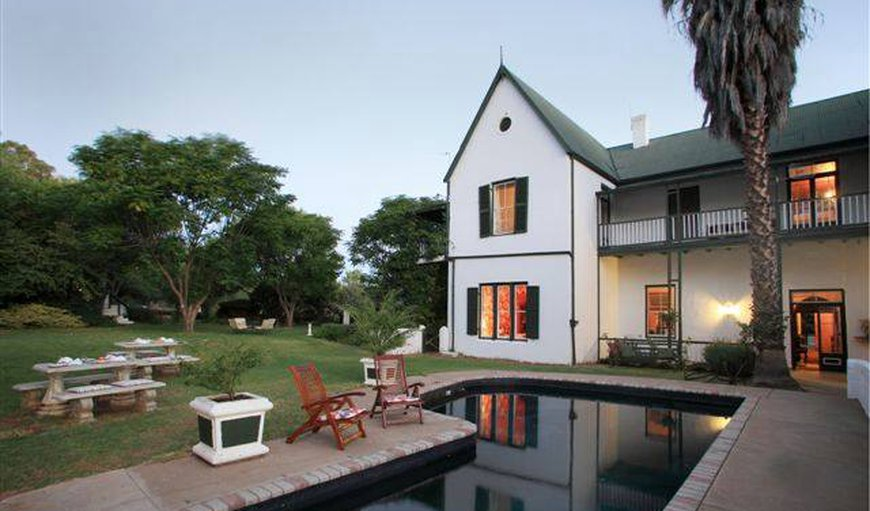 Welcome to The Willow Historical Guest House in Willowmore, Eastern Cape, South Africa