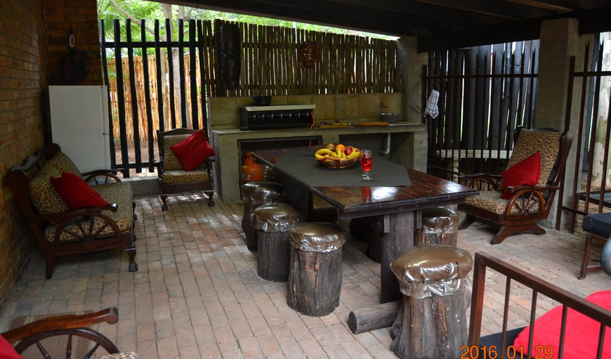 Comfortable outdoor /Under roof entertainment area,