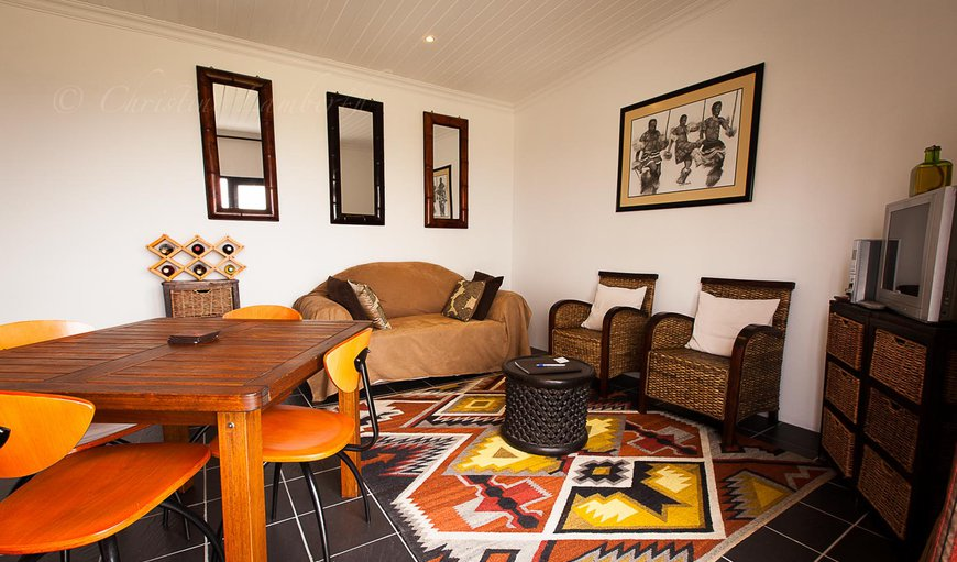 Complete with DSTV (limited channels) and an outside braai area this unit is very comfortable.